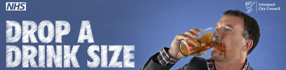 NHS: Drop A Drink Size Flashmob