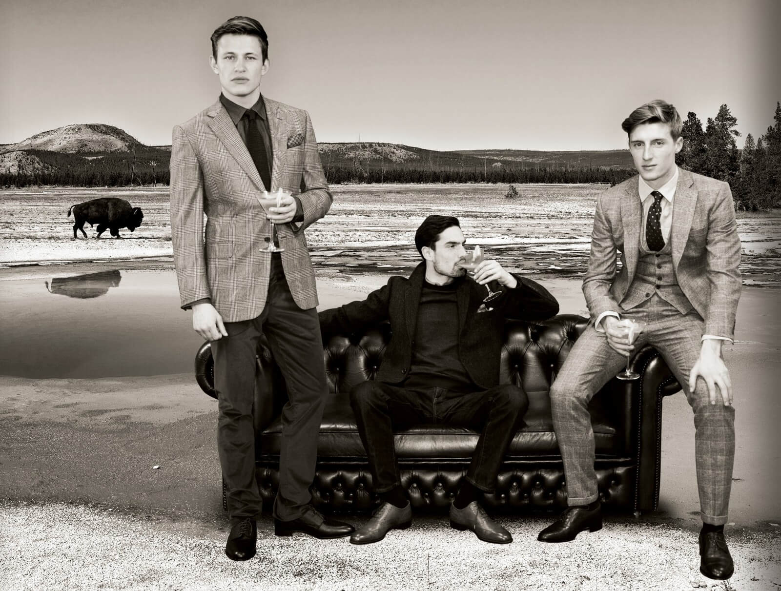 Gieves & Hawkes and Whitley Neil: A Sense of Adventure