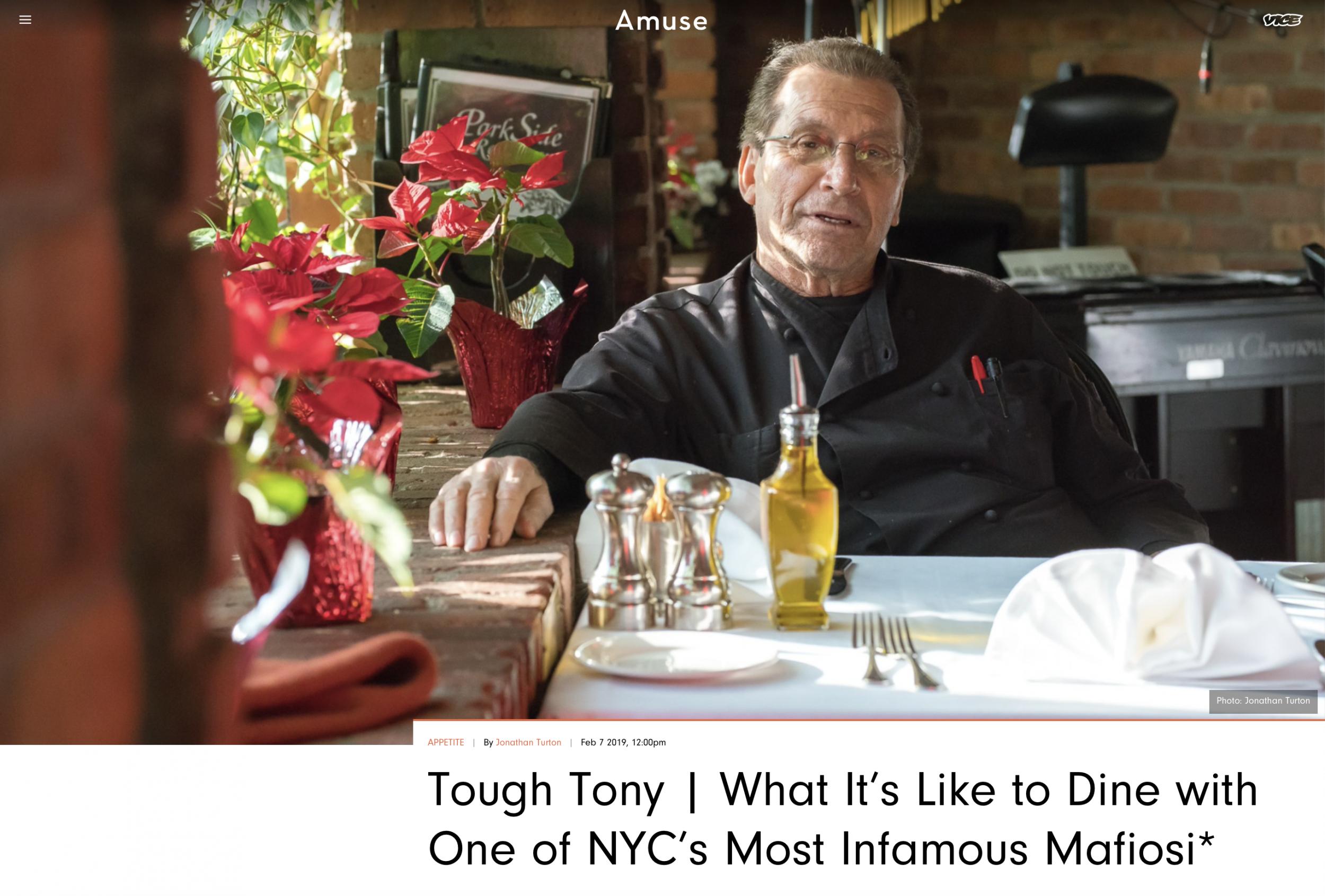 Vice: Tough Tony